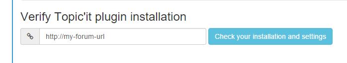 verify installation