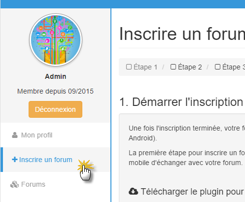 Inscrire un forum sur Topic'it