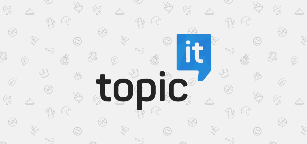 Topic'it banner for iOS (1024x480)